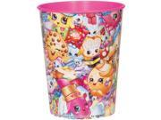 "12X Shopkins """"Collection"""" Plastic 16 Ounce Reusable Keepsake Favor Cup ( 12 Cups )"" 9SIABHU6DJ9184"