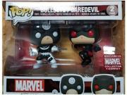 Funko Pop! Marvel Bullseye/Daredevil Vinyl Bobble-Heads Figures Exclusive Collector Corps 9SIABHU75G0845