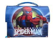 Spiderman Workman's Dome Tin Box - Blue 9SIABHU75G0146