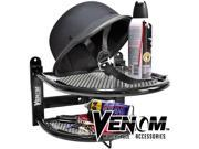 Venom® Motorcycle Helmet Gloves Jacket Shelf Shelves For Harley Davidson Softail Heritage Custom 9SIABK74NK1444