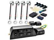 Biltek 4x Door Car Power Window + Keyless Door Unlock Kit For Mercury / Porsche / Volvo 911 452 262 264 265 740