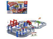 Children's Electric Rail Car Track Toy, 3d Variety Two-layer Spiral Track Roller Coaster Toy Electric Rail Car for Child Gift 9SIABKR4YU1600