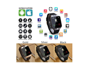 LATEST VERSION Original DZ09 SmartWatch Bluetooth Touchscreen SIM Card SmartWatch Phone With Spy Camera / For iPhone Android HTC