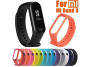 Fashion Sport Soft Silicone Replacement Wristband Wrist Strap For Xiao Mi Band 3 wearable devices smartwatch fitness tracker