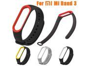 Soft Silicone Sport Watch Band Replacement Bracelet Strap For Xiaomi Mi Band 3 wearable devices smartwatch relogios z2