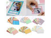 20Pcs Polaroid Camera Film Skin Masking Photo Sticker For FujiFilm Instax Mini Decor Z11 Drop ship