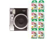 Fujifilm INSTAX Mini 90 Neo Classic Fuji Instant Camera Black + 160 Sheets Film