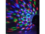Auto Sound Activated LED Mini Crystal Rotating RGB LED Stage Lights for KTV Xmas Party Wedding Show Pub Disco Ball Effect 9SIABMK56K0277
