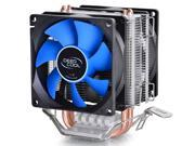 12cm Fan CPU Cooler Heatsink quiet for Intel LGA775 1156 1155 AMD FM2 AM2 2 AM3