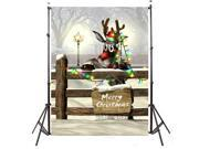 Christmas Thin Vinyl Photography Backdrop Waterproof Artistic Effect Xmas Theme Background Studio Prop 0.9 x 1.5m 9SIABMK5DY7811