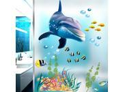 Under the Sea World Wall Stickers Fish Decals for Bathroom Kids Room Home Decor 9SIABMK6M44261