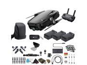 Onyx Black DJI Mavic Air Quadcopter Drone 3 Battery Bundle With Warranty