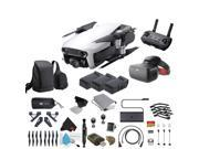 Artic White DJI Mavic Air Quadcopter Drone + FPV Racing Goggles Headset Bundle