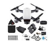 DJI Spark Quadcopter Fly More Combo (Alpine White) CP.PT.000731 + Starter Accessories