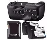 Sony Vertical Battery Grip for Alpha A99 DSLR Camera NP FM500H Battery 64GB SDXC Card Saver Bundle