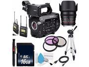 Sony PXW FS7 Camcorder International Model 16GB SDHC Class 10 Memory Card 6AVE Bundle 15