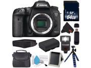 Canon Eos 7D Mark II (International Model) 9128B002 + 64GB SDXC Class 10 Memory Card + LP-E6 Replacement Lithium Ion Battery + Deluxe Cleaning Kit + Carrying Ca