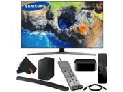 "Samsung MU7000-Series 65""""-Class HDR UHD Smart LED TV # UN65MU7000FXZA + Samsung HW-M4500 260W 2.1-Channel Curved Soundbar System # HW-M4500/ZA + Apple TV 4K (32"" 9SIV15W6U68981"