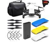 Ryze Tech Tello Quadcopter #CP.PT.00000252.01 + Ryze Tech Snap-On Cover for Tello (Blue) + Ryze Tech Snap-On Cover for Tello (Yellow) + Carrying Case + MicroFib