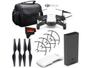 Ryze Tech Tello Quadcopter #CP.PT.00000252.01 + Carrying Case + MicroFiber Cloth Bundle