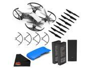 Ryze Tello Quadcopter Drone with 720P HD Camera- Essential Bundle + Blue Drone Cover