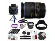 Tamron SP 90mm f/2.8 Di Macro Autofocus Lens for Canon International Version (No Warranty) Pro Kit