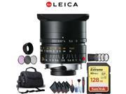 Leica 24mm f/3.8 Lens (11648) Complete Accessory Kit with Corel Photo Essentials Software (Mac)