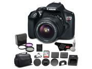 Canon EOS Rebel T6 Digital SLR Camera Bundle with EF-S 18-55mm f/3.5-5.6 IS II Lens with 32GB Memory Card + More