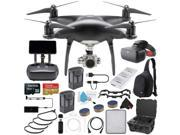 DJI Phantom 4 Pro+ Obsidian Edition Quadcopter + DJI Racing Goggles FPV Headset and Extra Battery Bundle