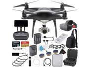 DJI Phantom 4 Pro+ Obsidian Edition Quadcopter + DJI Racing Goggles FPV Headset and Extra Battery Bundle