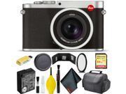Leica Q (Typ 116) Digital Camera (Silver Anodized) Standard Bundle