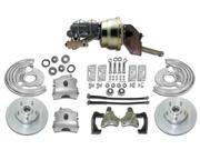 REVS RCBK6272 - Mopar B-Body and E-body, Complete power disc brake Conversion kit