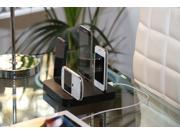 KiwiBox - Universal Charging Station for up to 6 devices, compatible with all Smartphones - Black