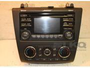 12 Nissan Altima AM-FM CD Radio With Climate Controls OEM LKQ 9SIABR45343506