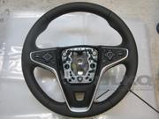 2016 Buick Regal OEM Jet Black Leather Steering Wheel LKQ