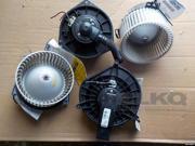 2007-2013 Suzuki SX4 Front AC Heater Blower Motor