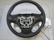 2015 Lincoln MKS OEM Black Leather & Woodgrain Steering Wheel w/ Shifters LKQ