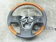 2010 Lexus RX350 Driver Steering Wheel Black OEM LKQ