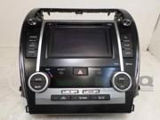 2013 Toyota Camry P10470 AM FM CD Player w/ Display Screen & Climate Control OEM 9SIABR45C43596