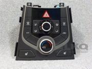 2014-2016 Hyundai Elantra Temperature Control Unit OEM 9SIABR45WM3598