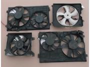 2006 BMW 330i Radiator Cooling Fan Assembly 94K Miles OEM