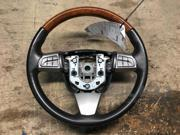08 09 10 Cadillac CTS Leather Wrapped WoodGrain Steering Wheel OEM LKQ