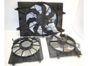 09 10 11 12 13 14 Acura TL Right Condenser Cooling Fan Assembly 64K OEM LKQ