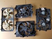 2003-2004 Ford Focus Radiator Cooling Fan Assembly 2.3L DOHC 54K OEM