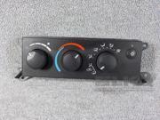 2006-2007 Dodge Dakota Temperature Control Unit OEM 9SIABR46XG6429