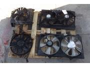 15-17 Hyundai Sonata Electric Cooling Fan Assembly 40k OEM LKQ