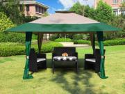 Cloud Mountain 13 x 13 Outdoor Easy Pop Up Double Roof Canopy Gazebo Waterproof Yard Patio Party Event Canopy Tent