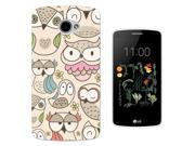 LG K5 Gel Silicone Case All Edges Protection Cover 1010 - Cool Fun Cute Multi Owls Birds Cartoon Kawaii Shabby Chic 9SIABTA4JE9757
