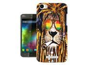 Wiko Fever 4G Gel Silicone Case All Edges Protection Cover 716 - Rasta Lion Weed Cannabis Hair Jamaican