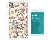 DOOGEE Y300 Gel Silicone Case protection Cover 1010 - Multi Owls Birds Cartoon Kawaii Shabby Chic 9SIABTA4KD2935